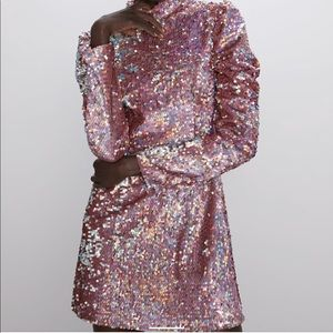 Zara Dresses - Zara Sequin Mini Dress